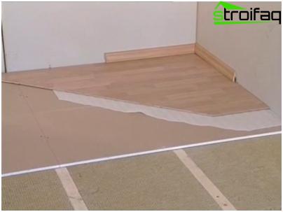 Classic Log Flooring