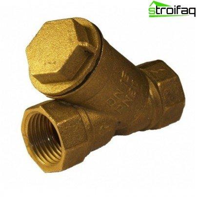 Beispiel für einen Grobwasserfilter