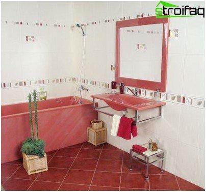 Декорация за баня с плочки