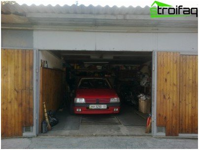 Skifer garage tag