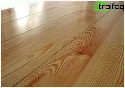 Warum Holzböden mit Farben beschichtet sind