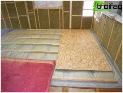 Sheet materials - rough floor