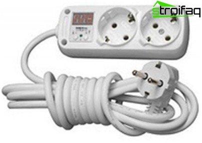 relé de red de monitoreo de voltaje
