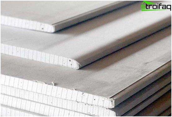 Drywall is a modern environmentally friendly material