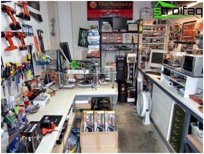 Garage werkplaats