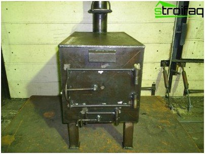 Do-it-yourself garage stoves - economical, productive equipment