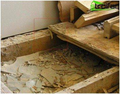 Repair wood floor
