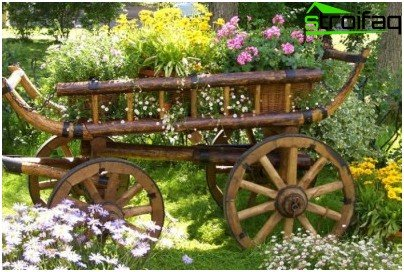 оригинална цветна градина