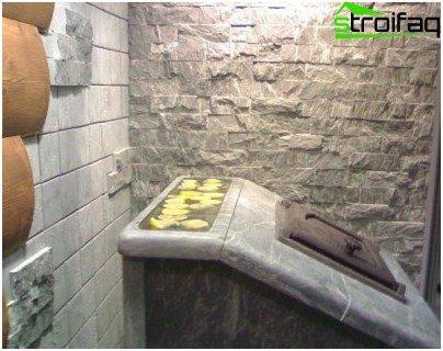 Støbejernsenhed til et bad: pålidelighed og holdbarhed