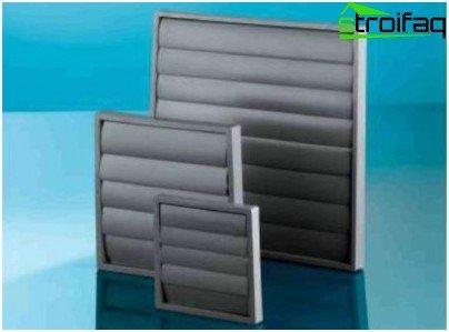 A abertura de ventilação da fonte pode ser substituída por grades especiais
