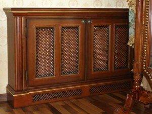 Дървените паравани са най-често по поръчка на производителите на шкафове