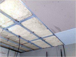 De 'droge' methode - het plafond nivelleren met gipsplaat