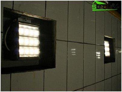 Inspection pit lighting