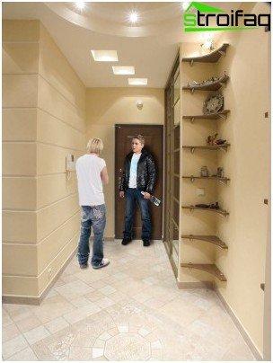 gipspladloft i gangen