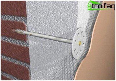 Метод кріплення цвяхами
