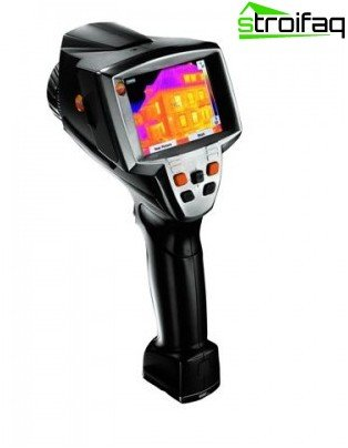 Thermal imager at work