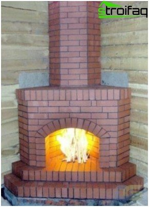 Do-it-yourself corner fireplace