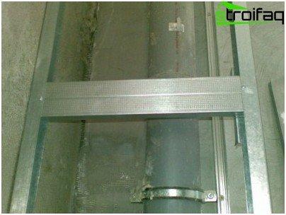 Zatvaranje cijevi za suhozidne kutije