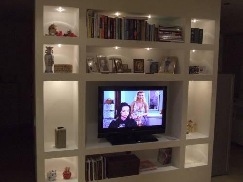 LED Plasterboard Shelves