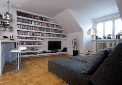 Drywall Bookshelves