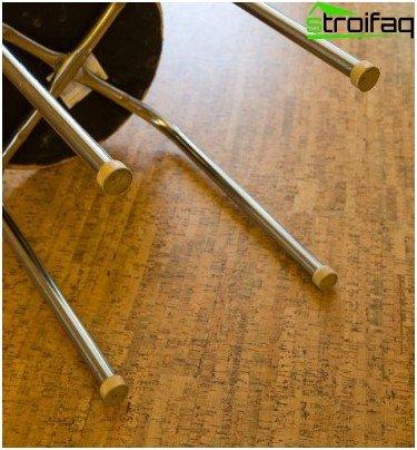 Boquilla en las patas de los muebles: protegemos el corcho de arañazos y abolladuras