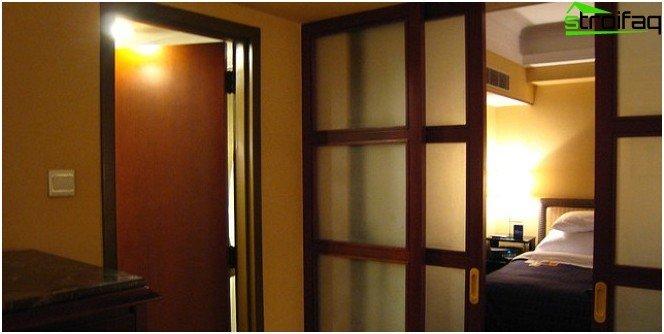 Disadvantages of Sliding Doors