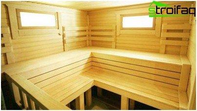 Houten ramen voor een bad - een goede optie