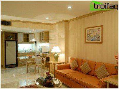 Regels en geheimen van het ontwerp van appartementverlichting