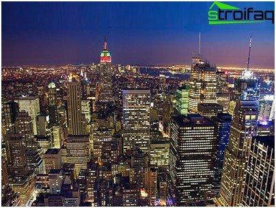 Vedere aeriană din Manhattan