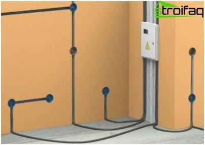 Underground wiring