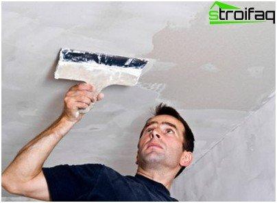 Allineamento del soffitto