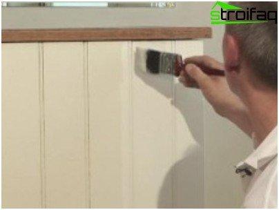 Cómo y cómo pintar el revestimiento.