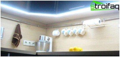 كيفية إضاءة منطقة العمل في المطبخ
