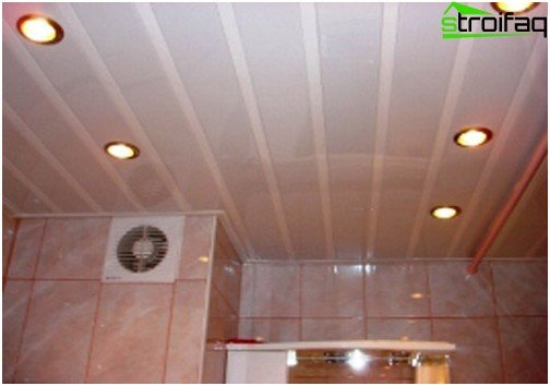 Slatted ceilings have a lot of advantages