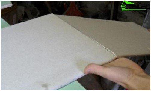 Kako izrezati list suhozida tijekom instalacije - 3. faza