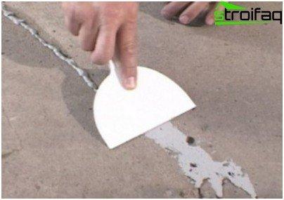 إصلاح طلاء الخرسانة
