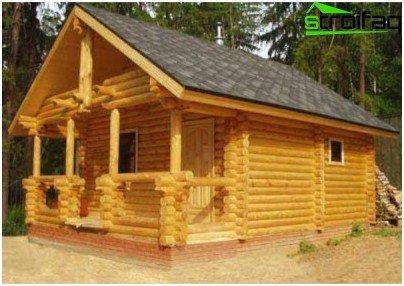 Prijavite se saunom s verandom