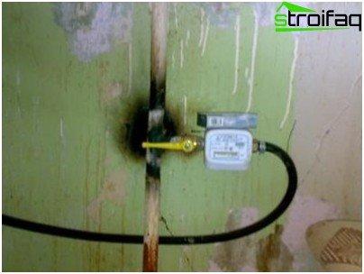 Como instalar um medidor de gás em um apartamento