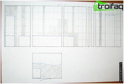 Creating a design project on paper