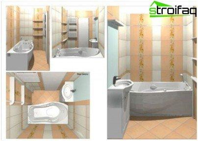 Izrada projekta dizajna kupaonice u računalnom programu