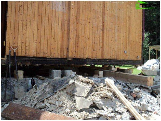 Ремонт на изтърканата основа