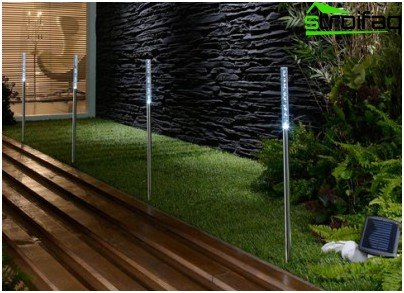 Long Solar Powered Lights