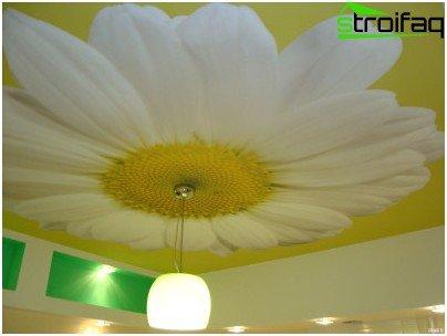 Seamless stretch ceiling