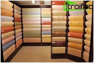 Tipos de papel tapiz moderno