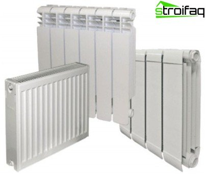 Varme radiatorer