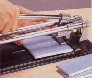 For cutting tiles, it is better to use a tile cutter.