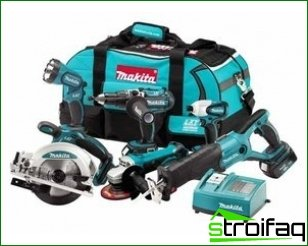 Makita power tools and their advantages