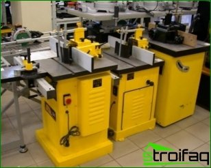 Types of woodworking machines