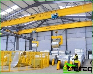 Pavement crane and its features