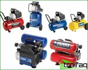 Choose a compressor